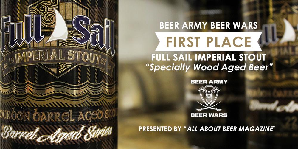 Full Sail Beer Wars 2017 Winner