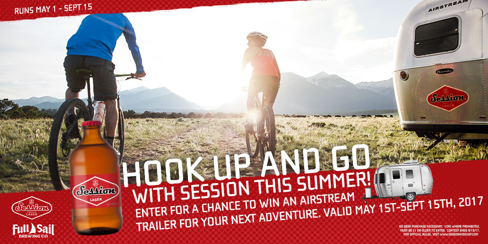 Hook up and Go with Session and Airstream | Full Sail Brewing